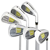 Forgan Golf HDT Iron Set (5-PW Clubs) - Mens Right Hand, Graphite Shaft, Regular Flex