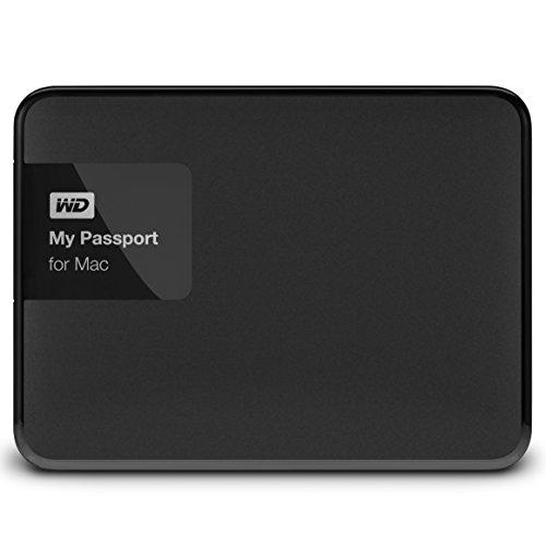 WD WDBCGL0020BSL-EESN My Passport for Mac Hard Disk Esterno Portatile, USB 3.0, 2 TB