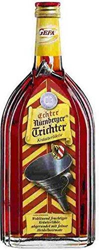 Kräuterlikör, Nürnberger Trichter, Inh.: 0,7 ltr, 32% vol.Acl.