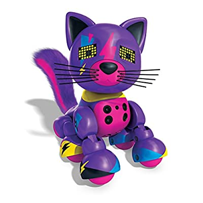 Zoomer - Meowzies - Tiger - Interactive Kitten with Lights - Sounds and Sensors