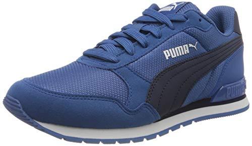 PUMA ST Runner v2 Mesh JR Sneaker, Bright Cobalt-Peacoat White, 39 EU