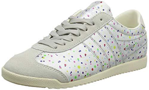 Gola Damen Bullet Shimmer Dot Sneaker, Silber (Silver/Multi Jz), 40 EU