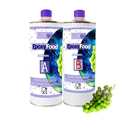 ResinPro Epoxyhars transparant voor contact met levensmiddelen