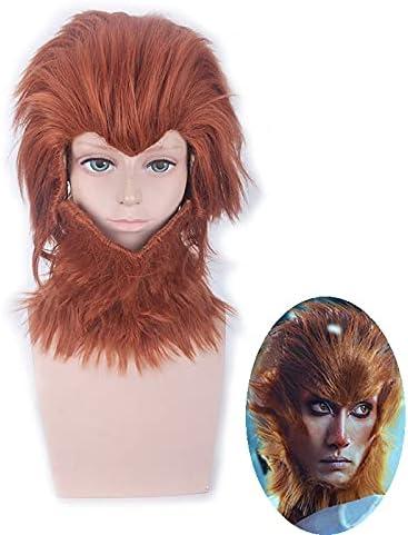Monkey King: Hero Is Over item handling ☆ Back The King Sale Wukong Sun Cosplay Wig