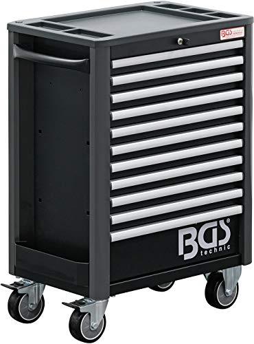 BGS 4103   Werkstattwagen   11 Schubladen   leer