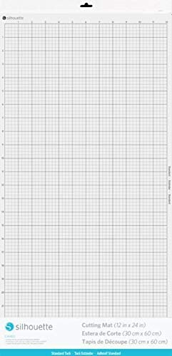 Silhouette America CUT-MAT-24-3T Max 80% OFF Cameo Mat Cutting White Minneapolis Mall