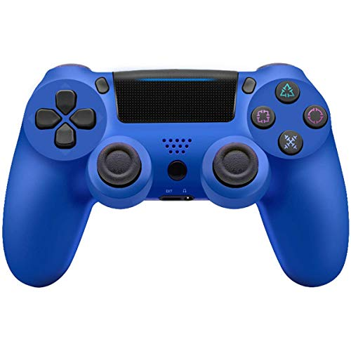 GXLO Joystick Wireless Luetooth Azul para PS4 GamePads Controller Fit Console para PlayStation4 Gamepad Dualshock 4 Gamepad para ps3, Azul