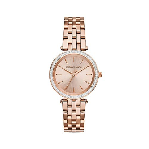 Michael Kors Women's Darci Watch, Rose Gold/Gold, One Size