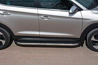 Reposapiés para Hyundai Tucson (Modelos a Partir de 2015), Color Cromo