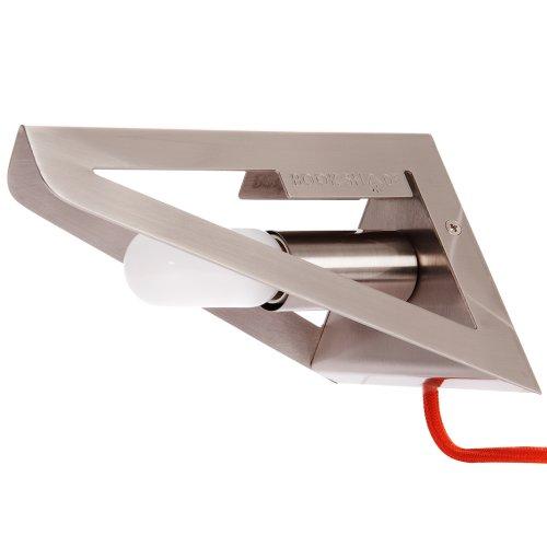 Leitmotive Lámpara De Pared Bookshade Diseño Beerd V. Stokkum E14, Satinado