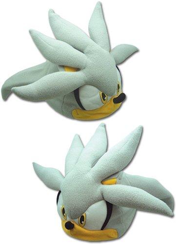 GE Animation GE-32355 Sonic The Hedgehog - Silver Sonic Head Fleece Cap