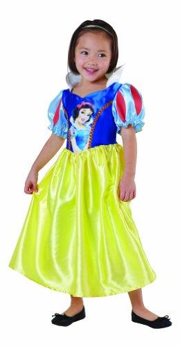 Rubie's-déguisement officiel - Disney- Déguisement Costume Classique Blanche Neige Robe et Serre Tête Rouge - Taille L- I-881855L