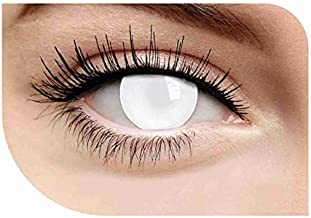 white blind contacts halloween
