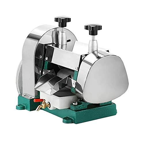 Manual Sugar Cane Juicer, Stanless Steel Sugarcane Extractor Squeezer 110 Pounds Output Capacity Per Hour