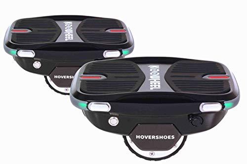 KOOWHEEL Kowheel CSL19TX-7 Hovershoes Schlittschuhe, selbstbalanciert, Unisex, für Kinder, Schwarz