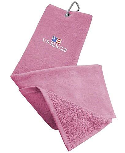 U.S. Kids Golf - Asciugamano per Racchetta da Golf, Pink