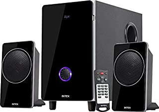 Intex 2.1Ch Computer Multimedia Speaker (Black)