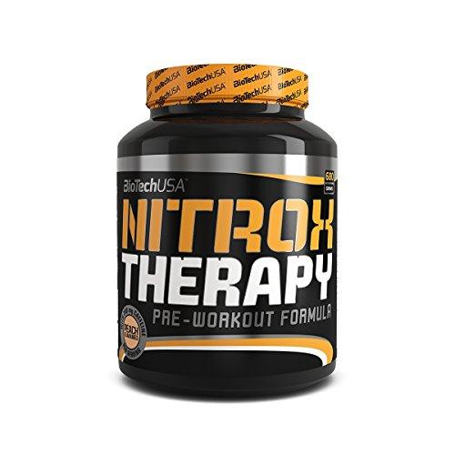 Nitrox Therapy Tropische Früchte 680 g - professioneller Pre-Workout-Booster - BiotechUSA
