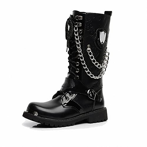 Tebapi Mens Backpacking Boots Army Boots Men High Military...