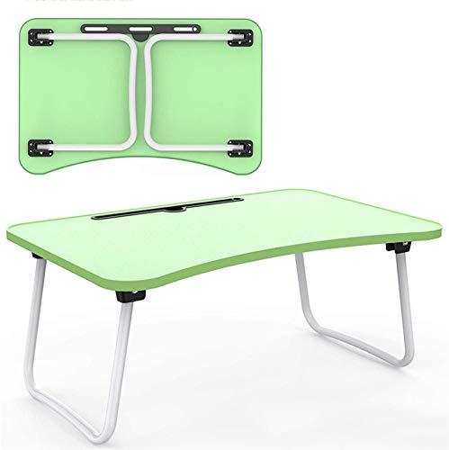 ZJDU Patas para muebles portátil portátil bandeja de cama para portátil, escritorio de regazo, escritorio de pie con patas plegables, escritorio plegable para tableta de regazo para sofá cama