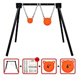 Highwild Steel Target Stand AR500 Shooting Target System (1 Stand, 2 Mounting Kits & 4'+ 6' Gongs)