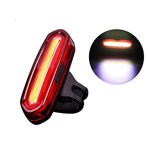 Neueste LED Fahrradbeleuchtung Fahrradlicht, USB wiederaufladbare Fahrrad Rücklicht Fahrrad, 4/6 Modi Fahrradleuchte Fahrradbeleuchtung Aufladbare Fahrradlichter Für Camping Angeln Warnlicht (B)