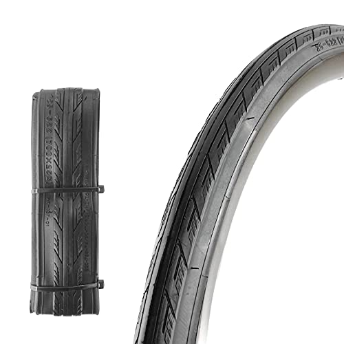 Bike Tyre 700 x 25c Folding Replacement Bicycle Tyre for Road Cycling Racing Touring