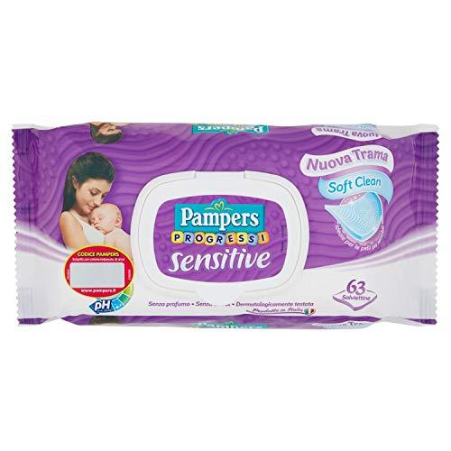 PAMPERS Feuchte Tücher Sensitive 63 St