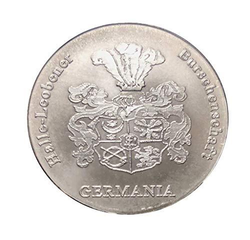 Silber .999 Medaille Studencika HLB Germania, Ehre Freiheit Vaterland, 1/2 Unze, Original