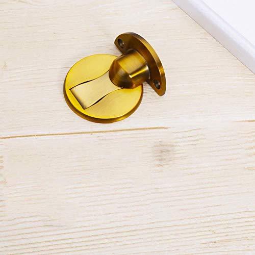 AMTXalo Tapón magnético de acero inoxidable para puerta, soporte oculto para puerta, soporte para puerta, herrajes para puerta, sin clavos, montados en la pared