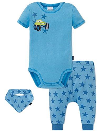 Schiesser jongens muts, sjaal & handschoen baby set, 3-pack, meerkleurig (gesorteerd 1 901), 086