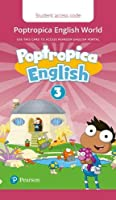 Poptropica English American Edition 3 Student PEP Access Card