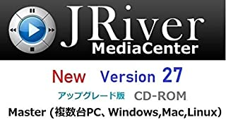 JRiver Media Center Ver27 マスター・アップグレード・ライセンス (Windows,Mac,Linux)