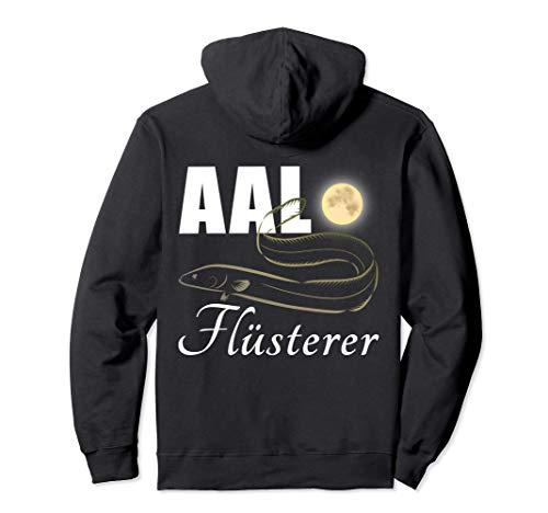 Aal Flüsterer - Aalangeln Geschenk für Angler Aal Angeln Aal Pullover Hoodie
