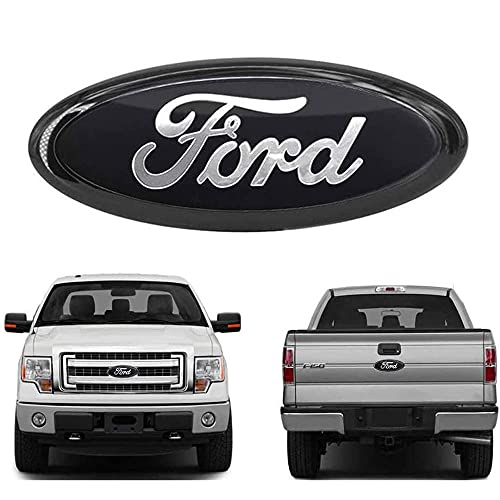 9inch F150 Front Grille Emblem,F150 Tailgate Emblem Oval 9'X3.5' Decal Badge...