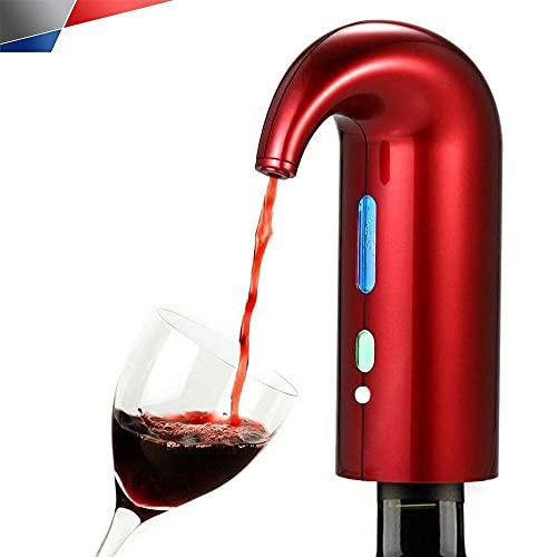 SHENGYANG Aeroador de Vino de Shengyang, decantador de Aire del Vino eléctrico, filtrante de aireación de aireación para Botella, Accesorios de Vino Rojo y Blanco para el Entusiasta