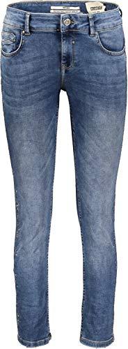 Coccara Damen Jeans Hose Curly Blue, Size 25