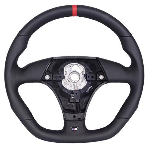 Autofun Extreme Lenkrad mit Echtlederbezug passend für 3er E36