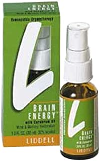 Liddell Homeopathic Brain Energy Spray, 1 Ounce