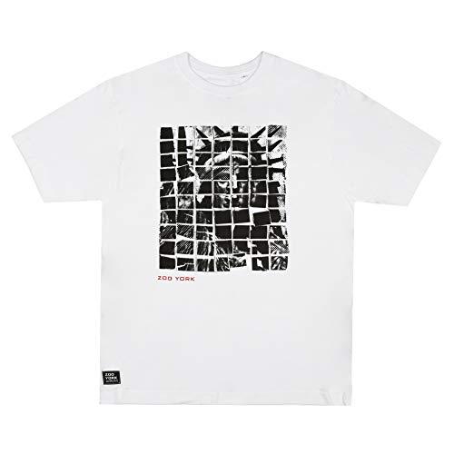 Zoo York Liberty Collage T-Shirt, Bianco, L Uomo