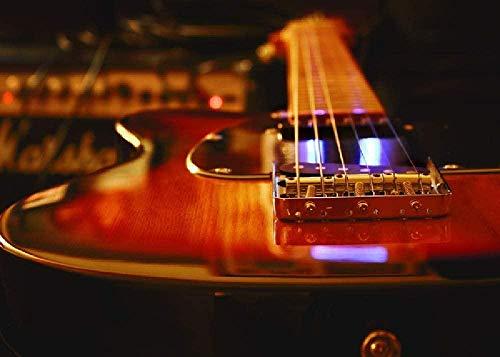 Puzzle Rompecabezas De 1000 Piezas Puzzle De Madera,Estudio De Grabación De Guitarra...