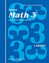 Math 3 Home Study Kit: 1st Edition (Saxon Math 3 Homeschool)