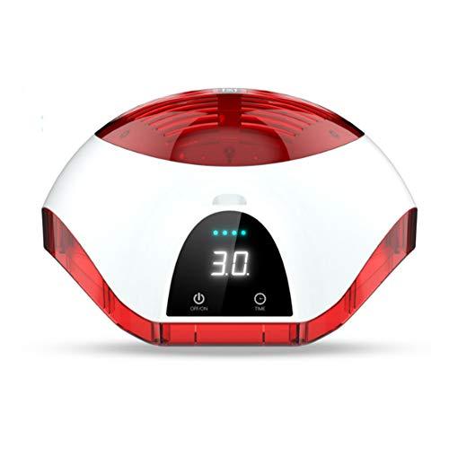 GXJ Laser Terapia Pelo Crecimiento Casco Dispositivo, Anti-Pérdida De...