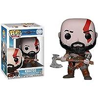 Bobblehead POP dios de la guerra Kratos 4-269# decoración del coche (Color : B)