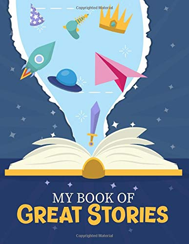My book of great stories: Fun activity book for kids and preschoolers