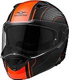 Vemar Sharki Matt HIVE casco, arancione fluo, taglia 2x L