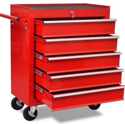 Generic.... NIC SH Einheit Brust Rolling T Schrank Laufrad T ches Garage Werkzeug Mechaniker S Trolley Warenkorb Schubladen RAWE Mechaniker Regal Y Warenkorb Schublade