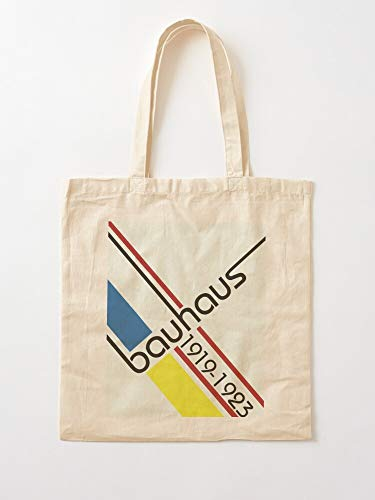 Gropius Weimar Bauhaus Contemporary Museum Germany Walter Retro 1900 Art I Anh Canvas Grocery Bags Tote Bags with Handles Durable Cotton Shopping Bags