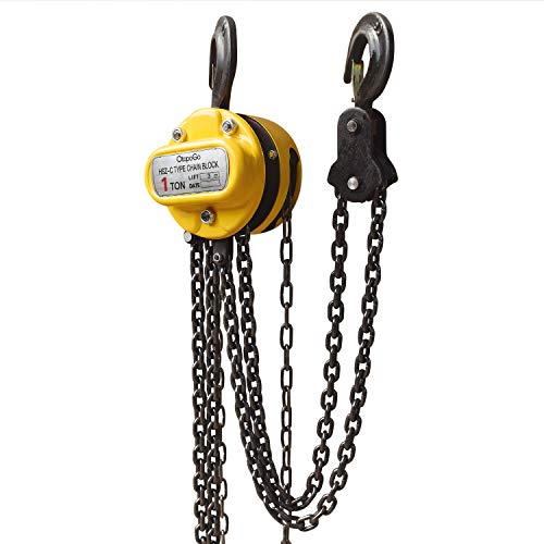1 TON CHAIN BLOCK /& TACKLE HOIST ENGINE LIFTING WINCH NEW 2.5m LIFT HEIGHT