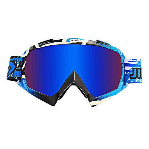 Motocross goggles, anti-scratch lenses, bicycle snowboard climbing teens (L04)